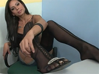 Heißer Shemale Porno mit sexy Nylons