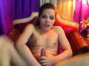 Amateur Pimmelfrau masturbiert vor der Cam